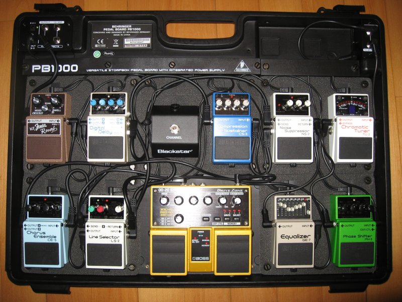 the evolution of a pedal board rh justinguitarcommunity com Guitar Pedalboard Order Pedalboard Wiring FX Loop
